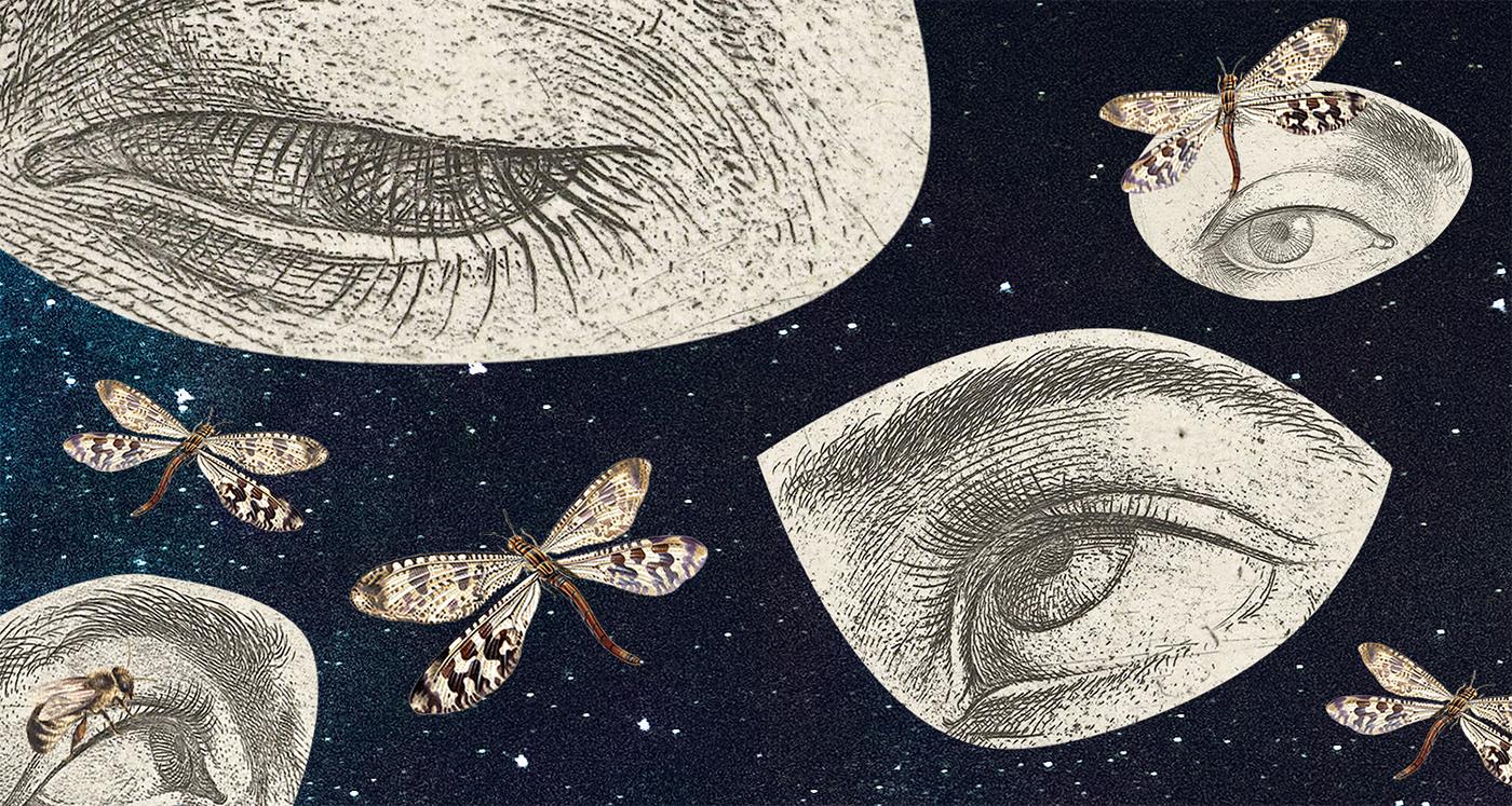 Ilustracja do wierszy Oli Kołodziejek dla Tlenu Literackiego