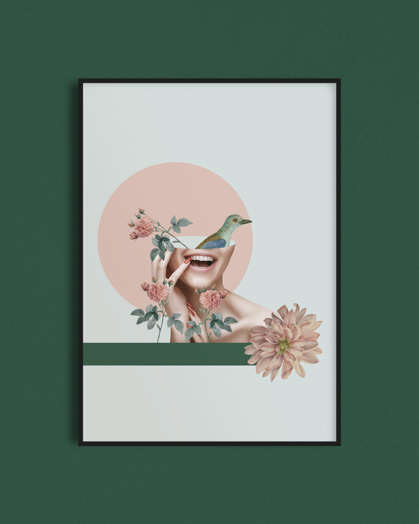 Projekt plakatu dla gabinetu stomatologicznego